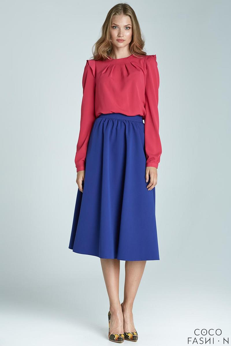 blue-prom-pleated-midi-skirt