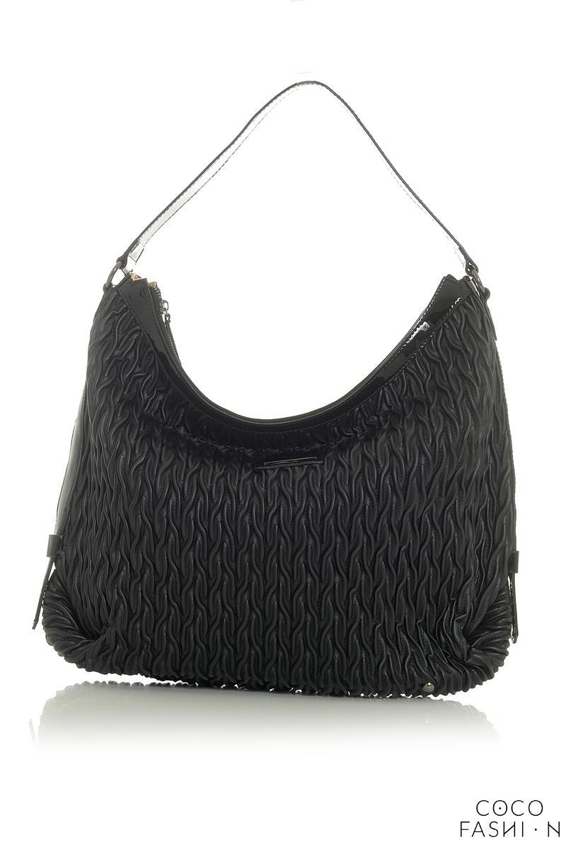 black-patterned-comfy-city-style-hand-shoulder-bag