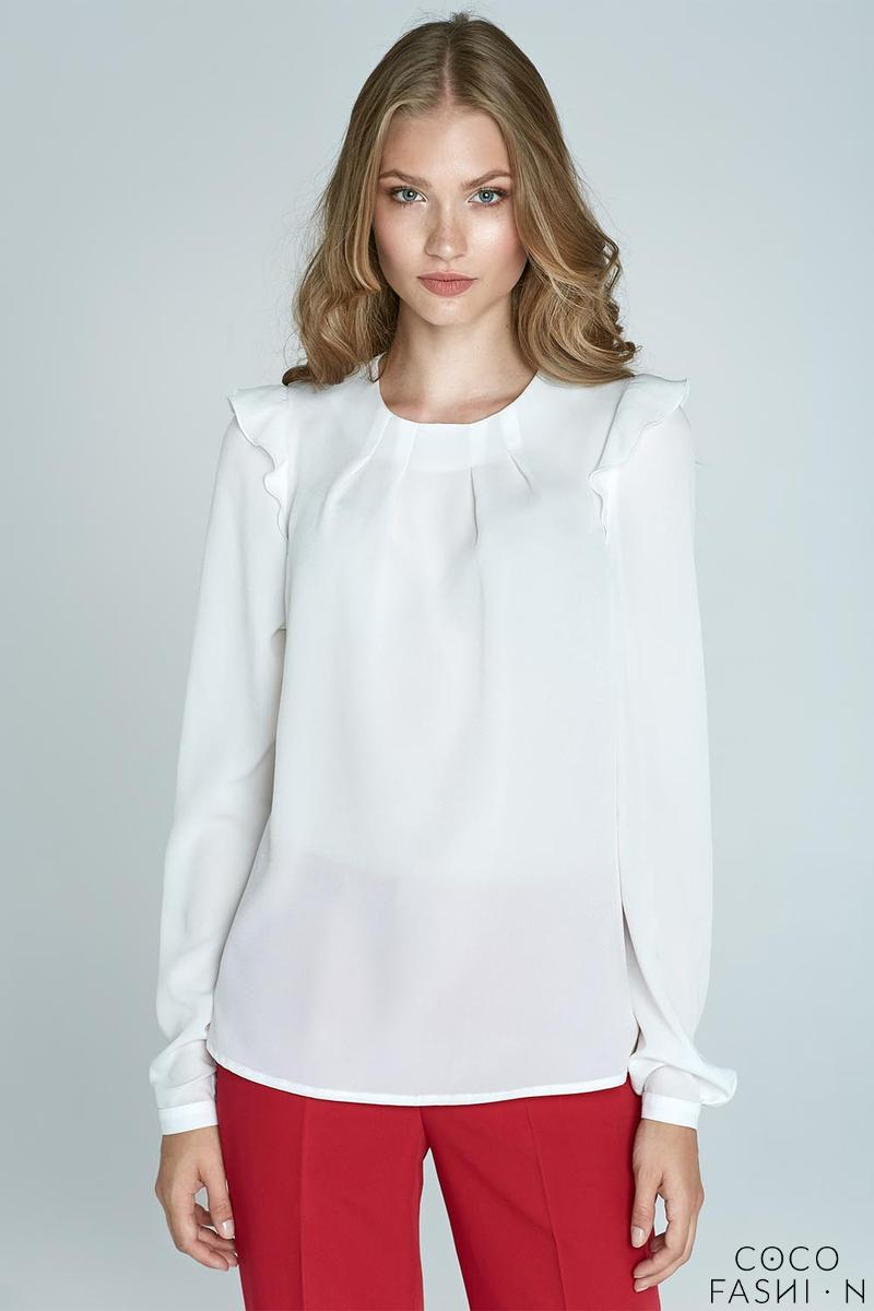 ecru-soft-office-blouse-with-frill-at-the-shoulders