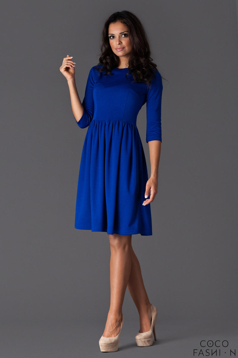 Blue Sassy Full Swing Ruby Dress от cocofashion