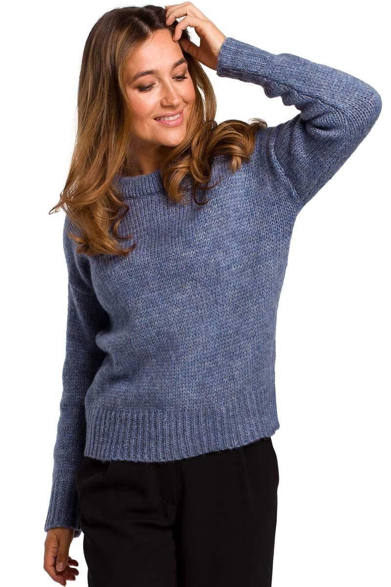 Blue Classic Warm Sweater