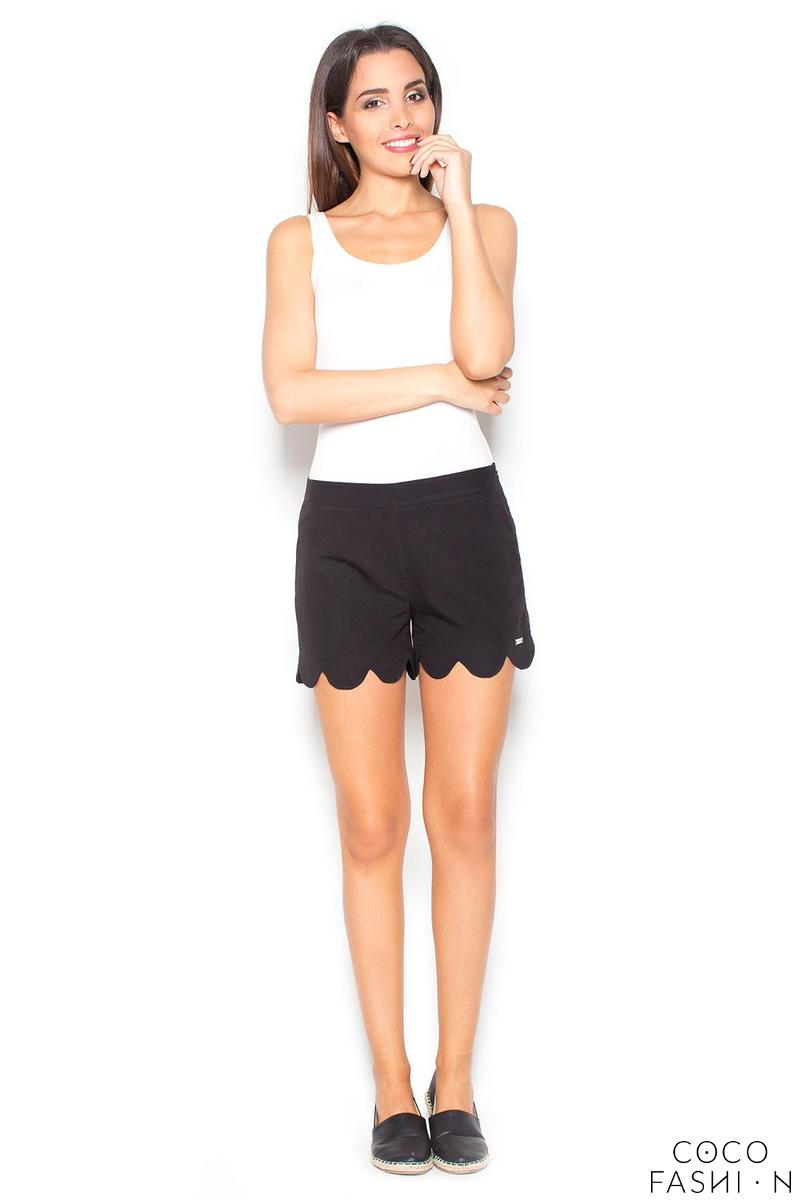 black-hight-waist-decorative-cut-out-legs-shorts
