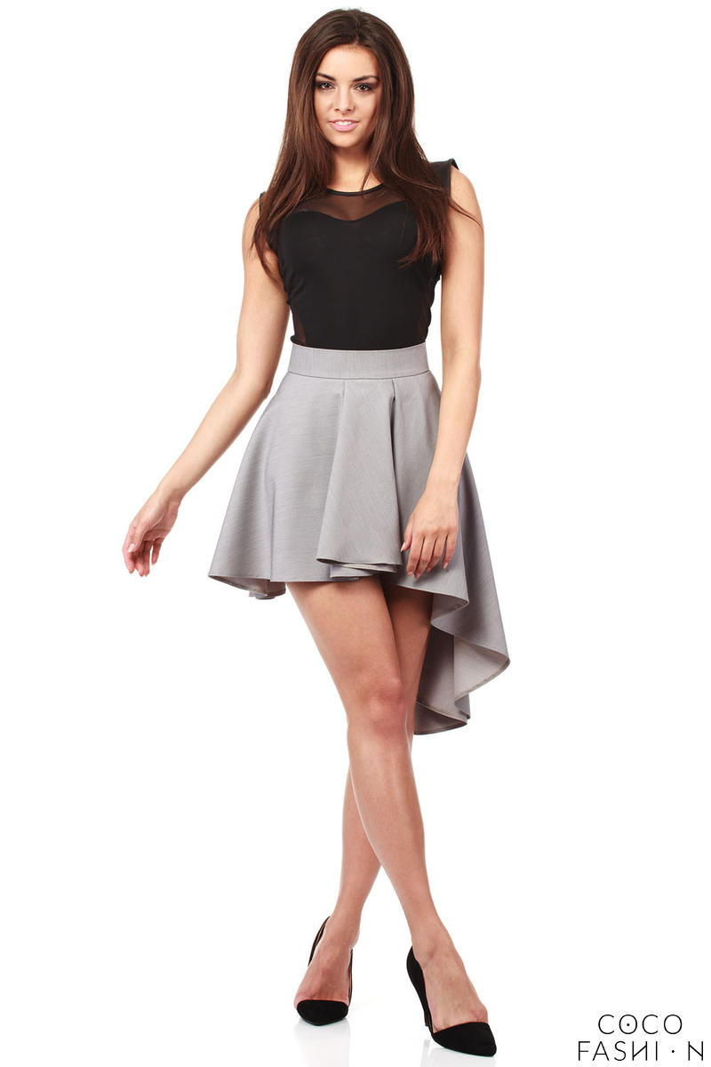 grey-flamenco-salsa-dancing-pleated-skirt