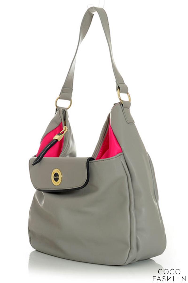 Grey Street Style Comfy Shoulder Bag от cocofashion