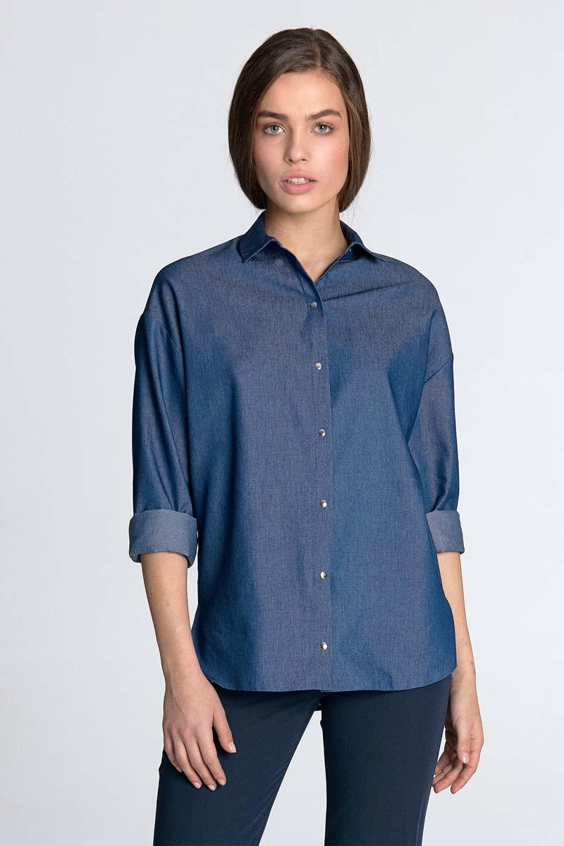 Jeans Long Sleeved Shirt
