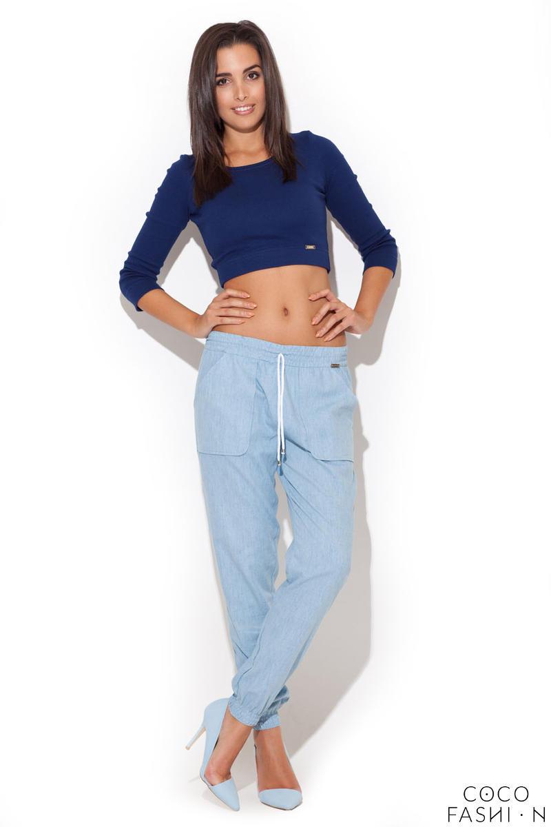 blue-chambray-drawstring-denim-tapered-pants