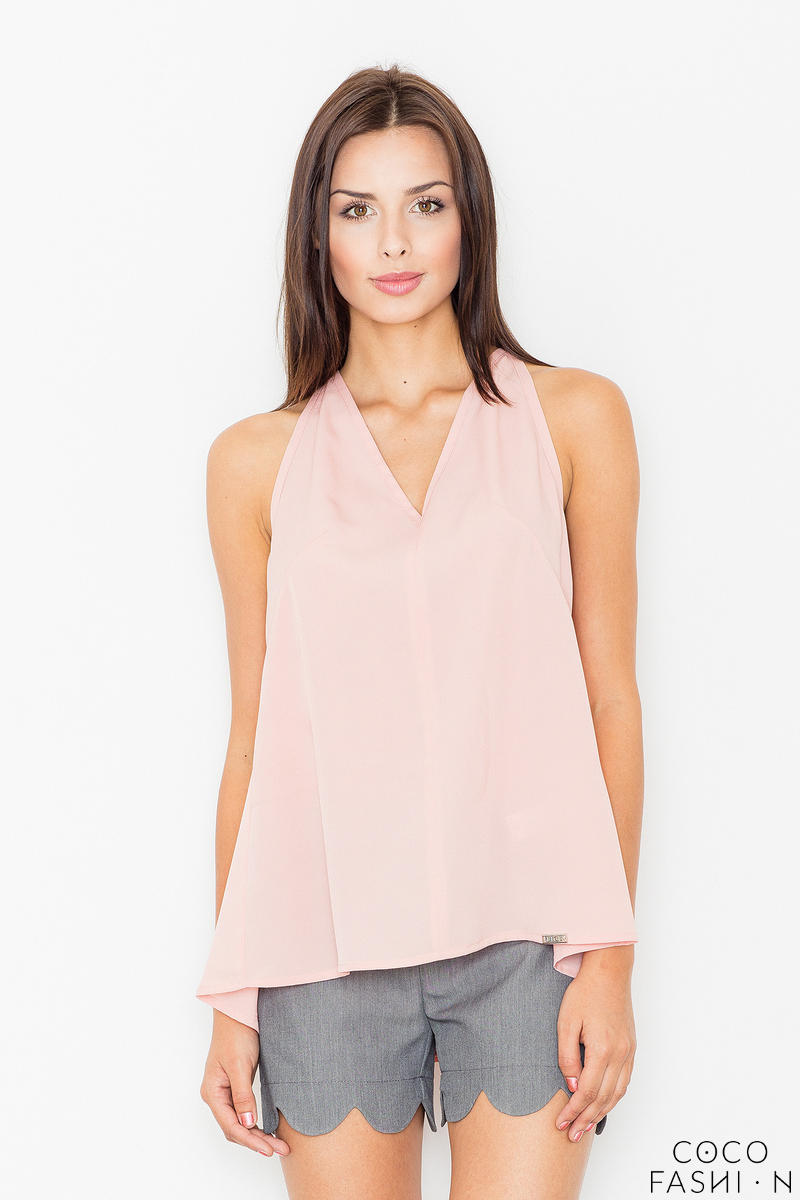 Pink Delicate Summer Blouse