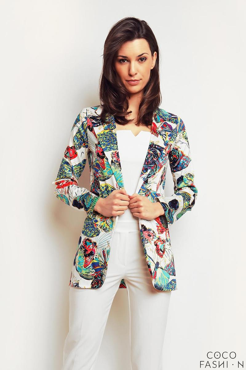 ecru-butterfly-pattern-ladies-blazer