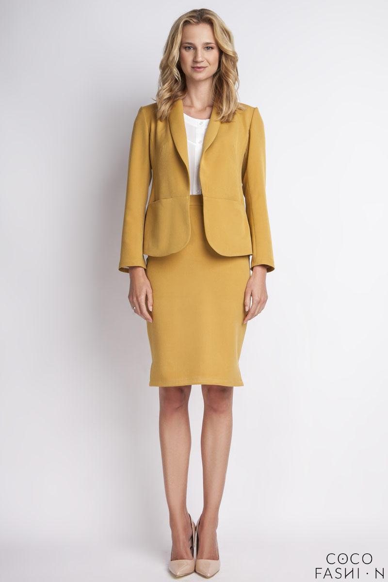 mustard-elegant-ladies-blazer