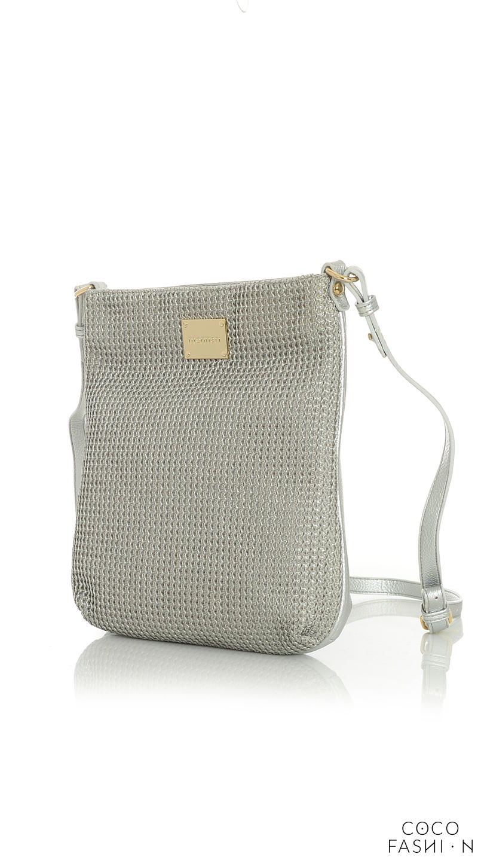 Silver Casual Long Strap Shoulder Bag от cocofashion