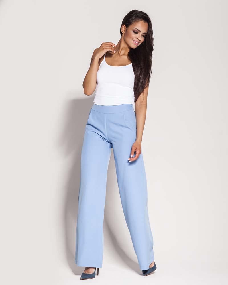 Light Blue Wide Pants