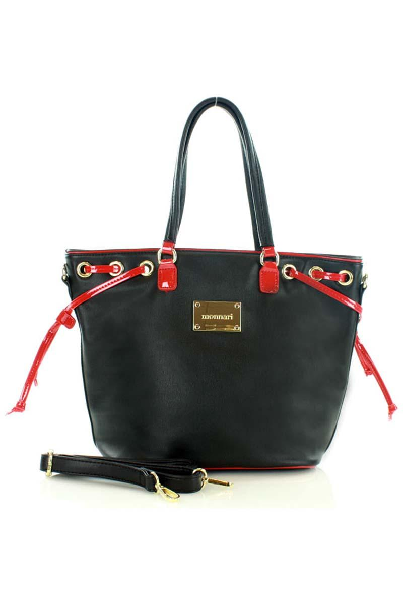 Black City Casual Style Hand/Shoulder Bag