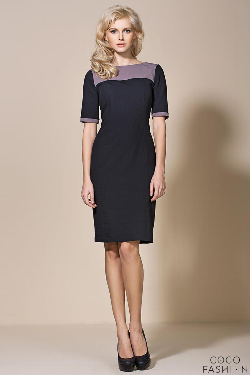 black-mocca-seam-shift-dress-with-back-slit