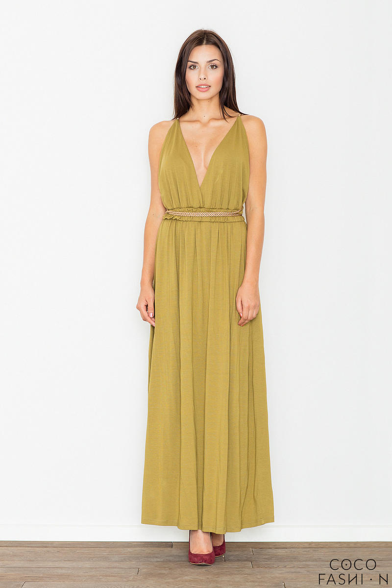 olive-green-maxi-long-greek-style-deep-neckline-dress