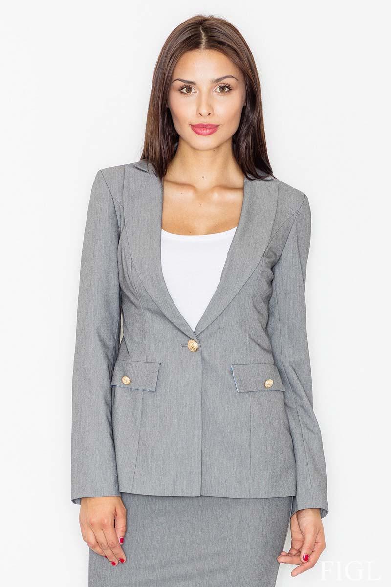 grey-elegant-one-button-ladies-blazer