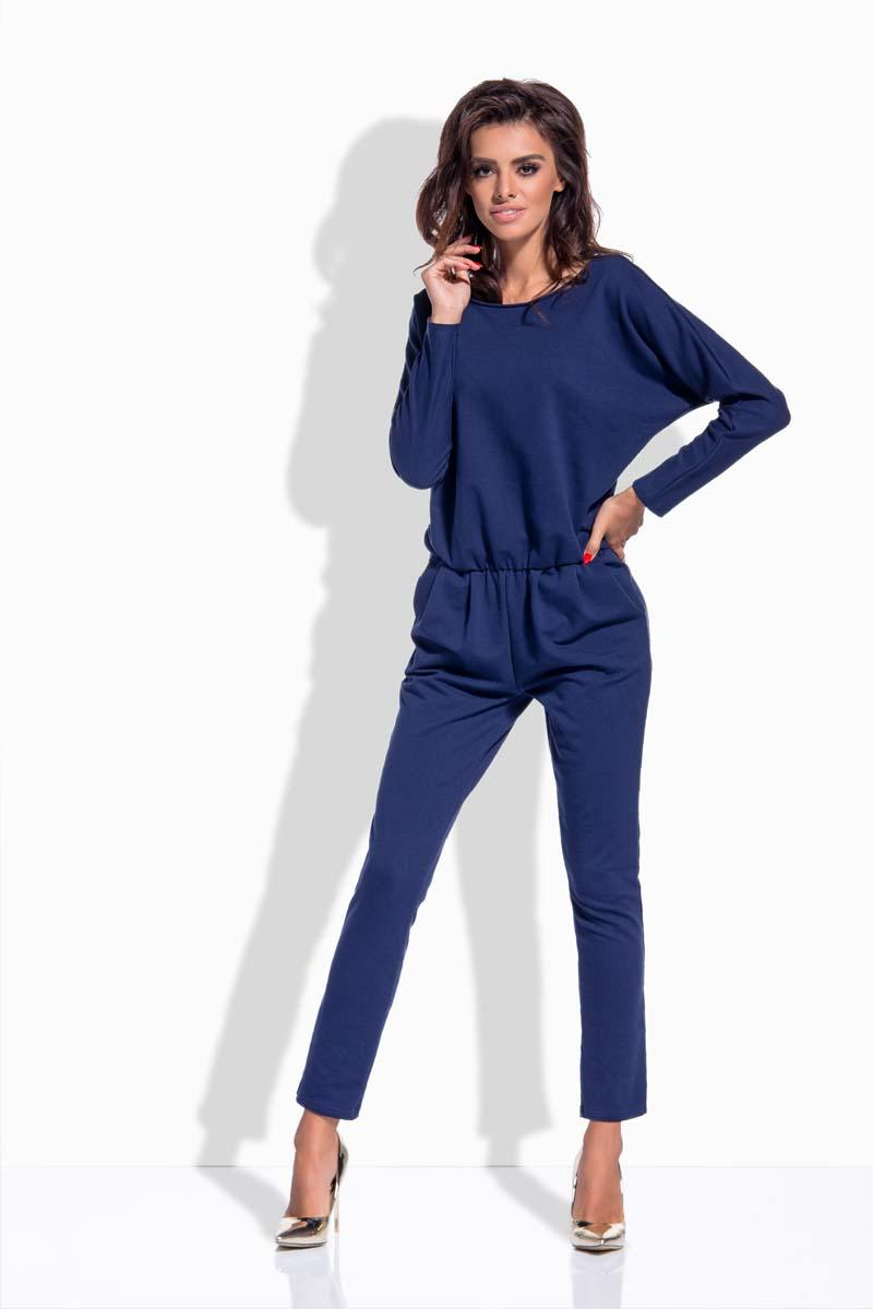 dark-blue-bat-sleeves-jumpsuit