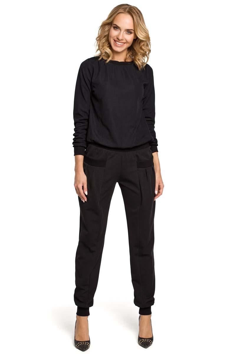 Black Comfy Harem Pants