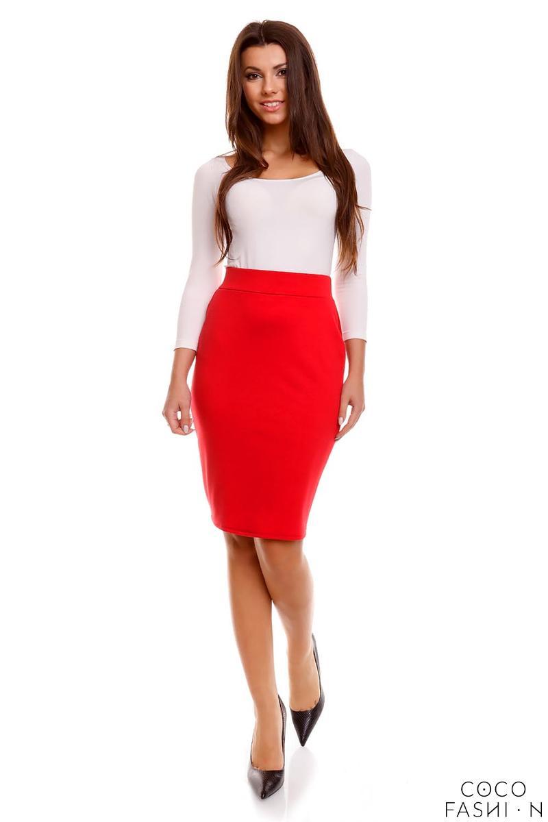 pencil cut office style skirt