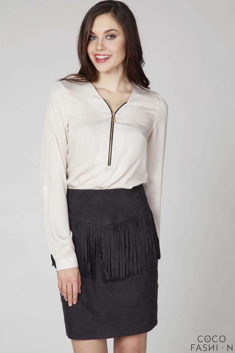 beige-office-style-blouse-with-a-zip