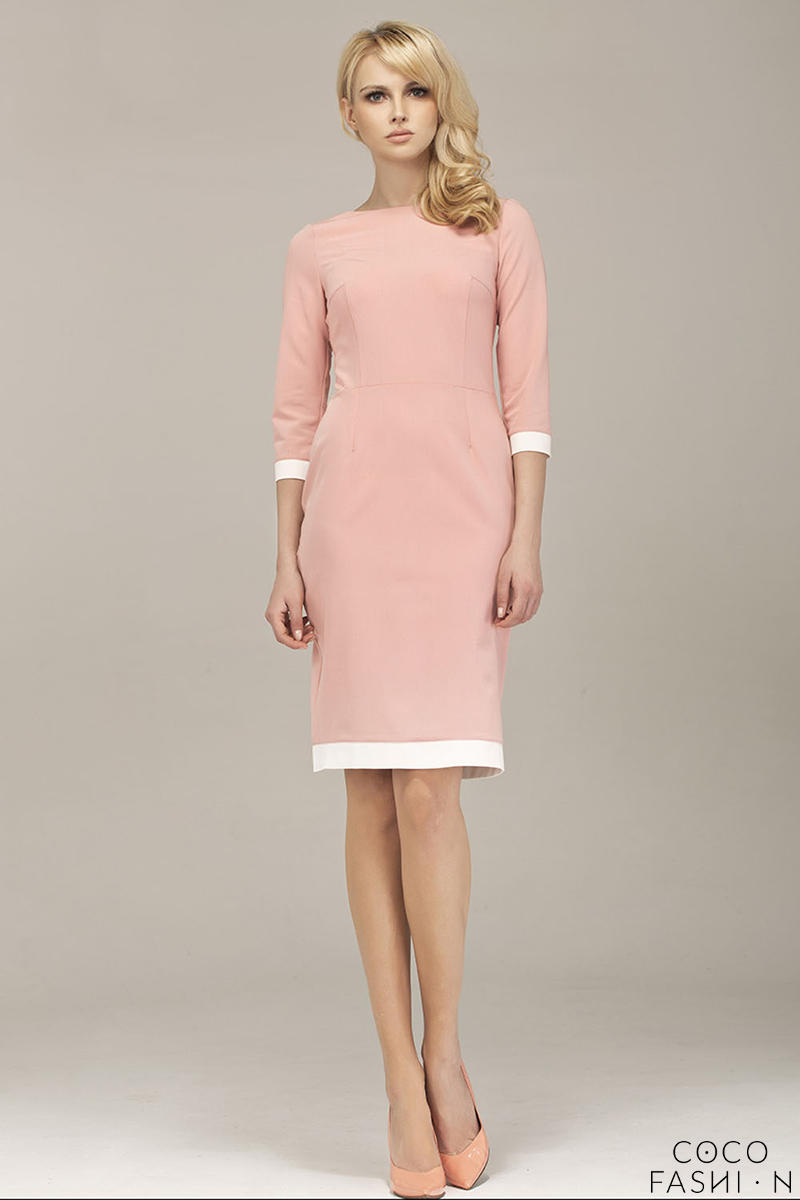 powder-pink-corporate-look-chic-dress