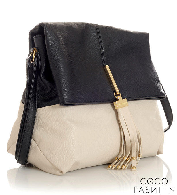 Beige&Black City Style Comfortable Ladies Bag от cocofashion