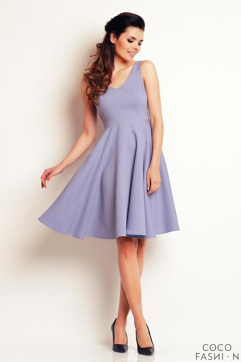 light-blue-flared-light-pleats-summer-dress