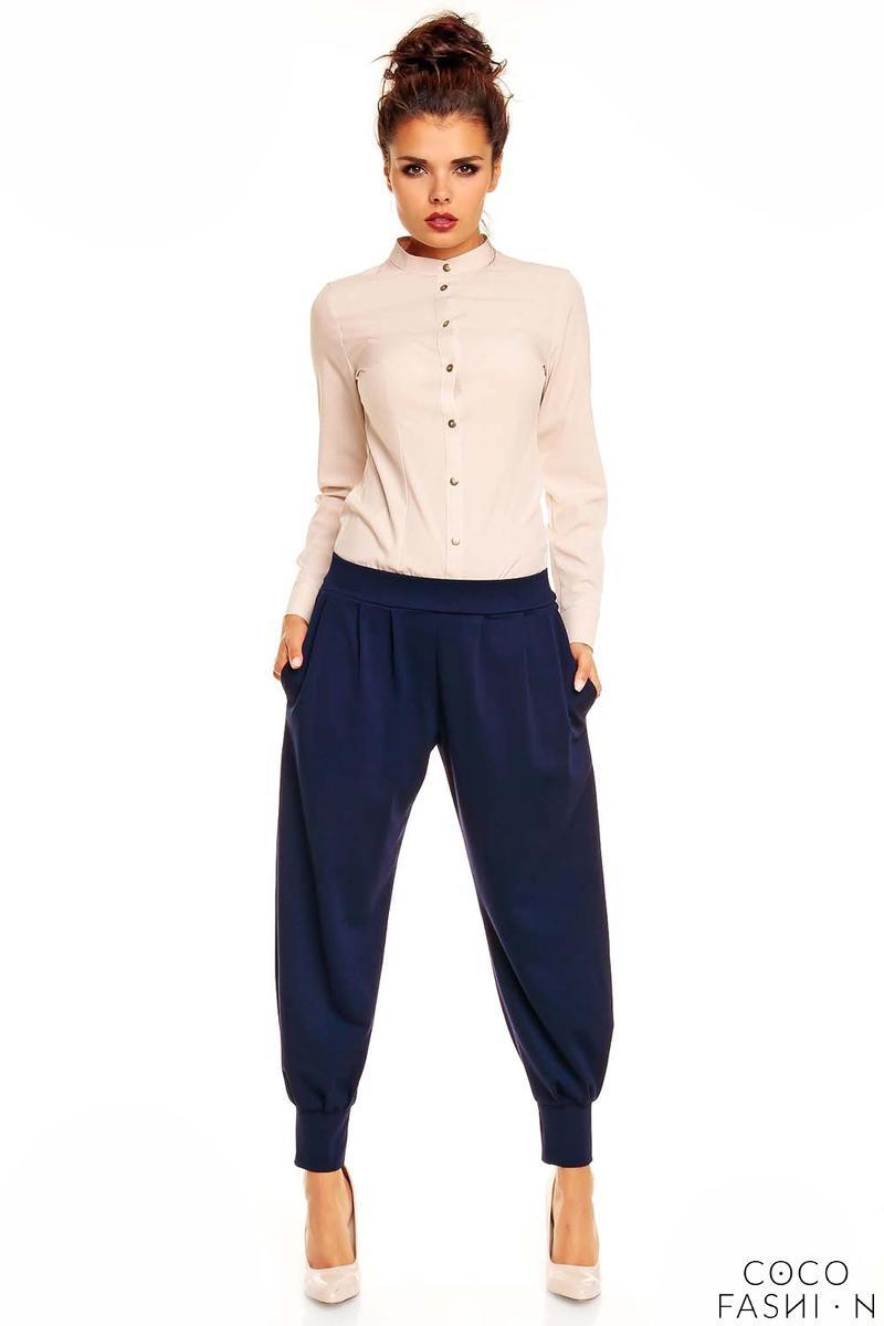 beige-mandarin-collar-button-down-shirt-for-women