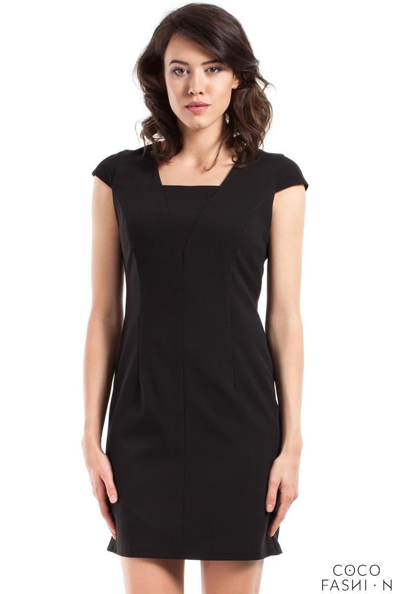 Black Super Slim Fit Mini Dress