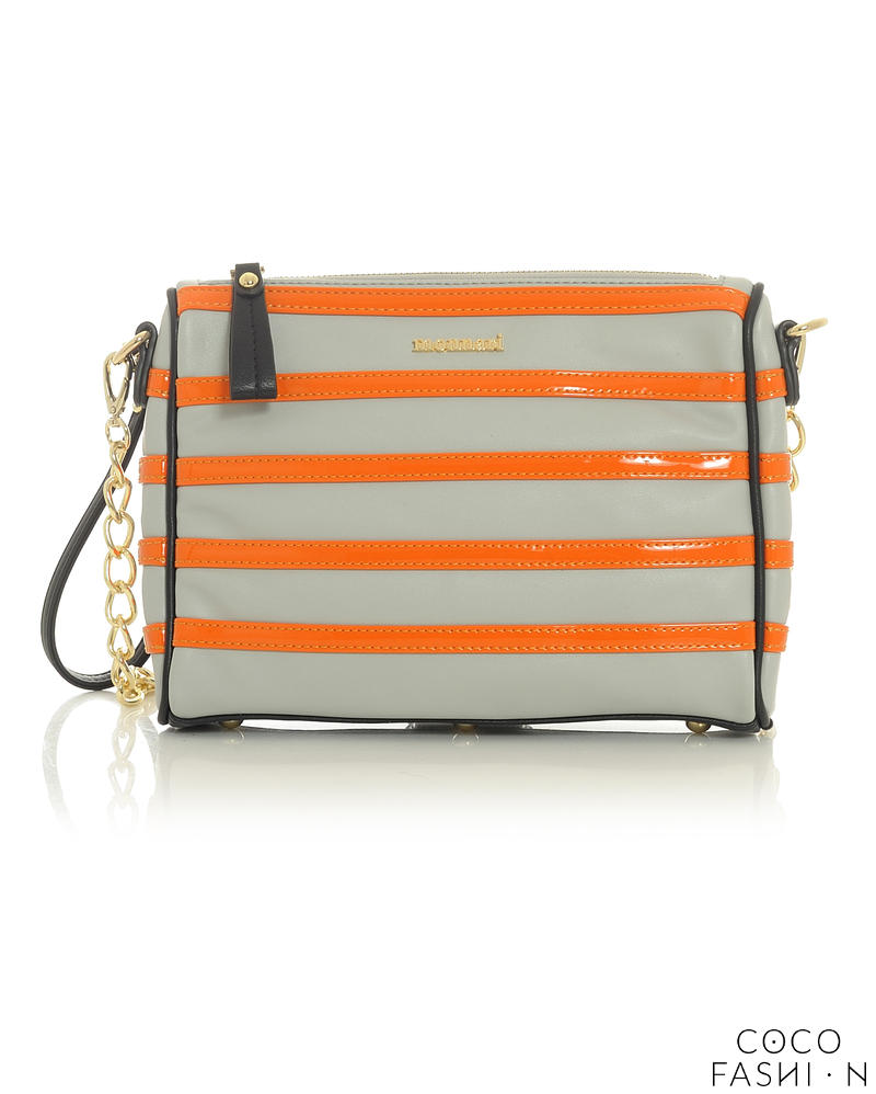 grey-orange-stylish-clutch-bag-with-chain