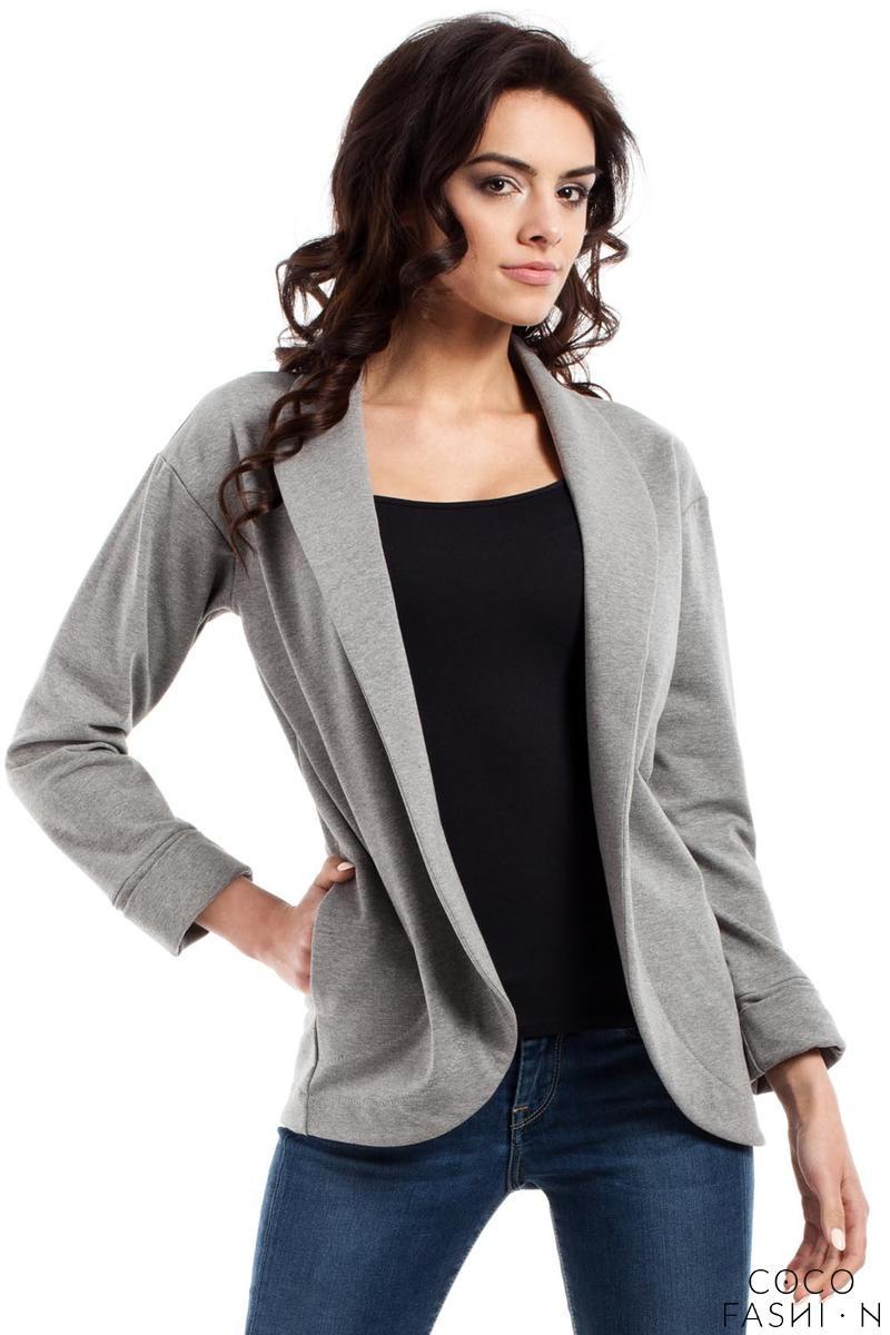 grey-loose-lapels-blazer