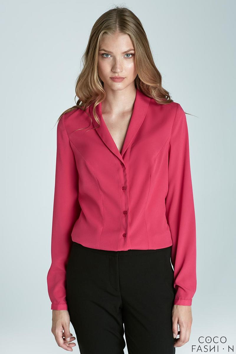 Fuchsia Chic&Stylish Soft Office Shirt