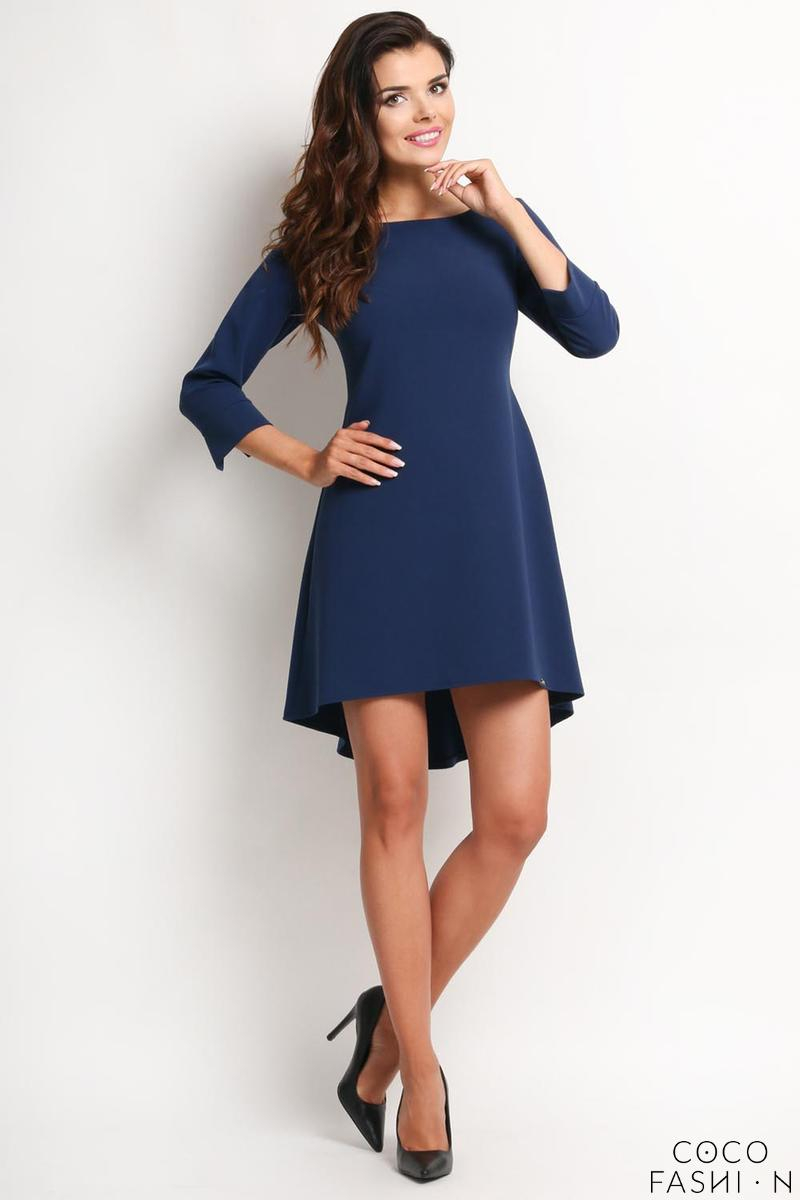 dark-blue-longer-back-double-fold-dress
