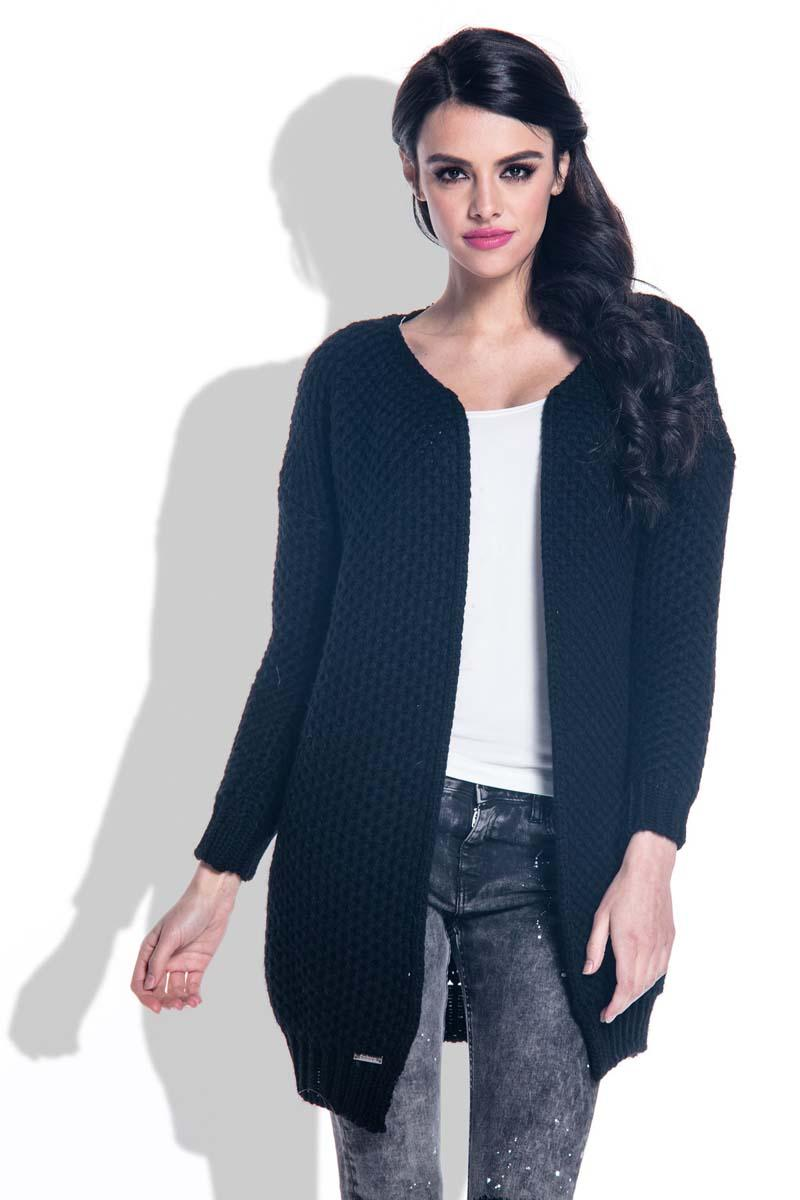 black-reglan-sleeves-open-cardigan