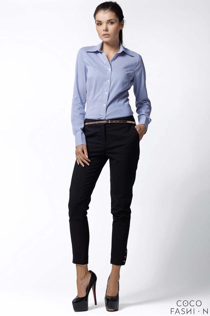 blue-striped-work-shirt-for-women