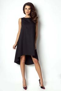 Black Asymetrical Coctail Dress
