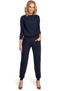 Dark Blue Comfy Harem Pants