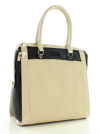 Beige&Black Elegant MONNARI Ladies Bag