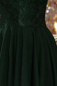 Dark Green Evenig Lace Dress