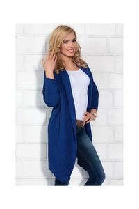 Blue Long Stylish Cardigan