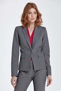 Grey Elegant Ladies Blazer