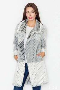 Grey Elegant&Stylish Wollen Coat