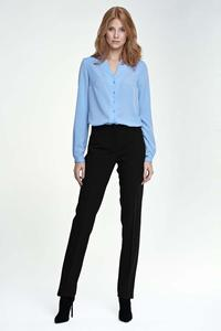 Black Elegant Office Style Pants