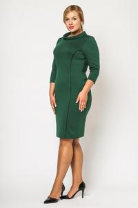 Green Elegant Slimming Dress PLUS SIZE