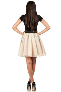 Cream Dreamy Princess Tutu Prom Skirt
