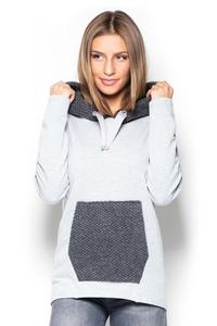 Jumper with Grey Kangoo Pocket