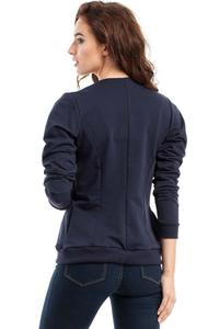 Dark Blue Full Zipp Bomber Jacket