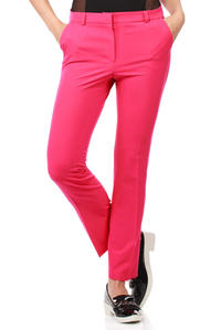 Pink Trendy Mode Tapered Style Long Pants
