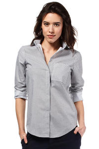 Grey Classic Long Sleeves Patterned Shirt