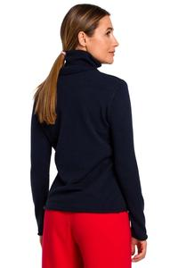 Nevy Blue Knitted Classic Golf