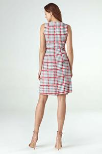 Pepito Patterned Summer Envelope Dress